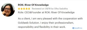 ROK Goldweb Solution Web Review